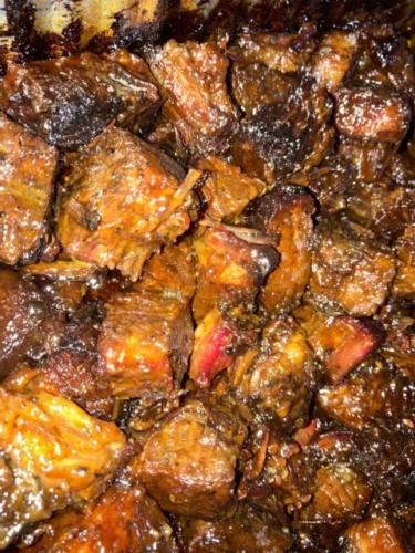 Brisket Burnt Ends $20/lb